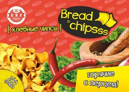 Хлебные чипсы «BreadChipsss» МИКС 4 вкуса (сыр, техасский барбекю, чеснок, холодец-хрен)