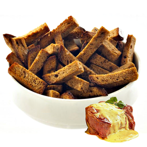 """Гренки ржано-пшеничные солёные """"свинина с горчицей""""  500 гр."""